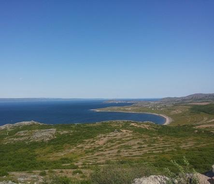 Varangerfjorden i Øst-Finnmark