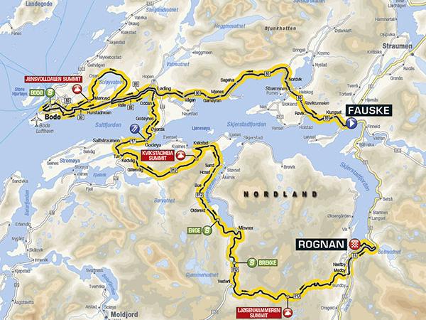 Arctic Race 2016 Etappe 1