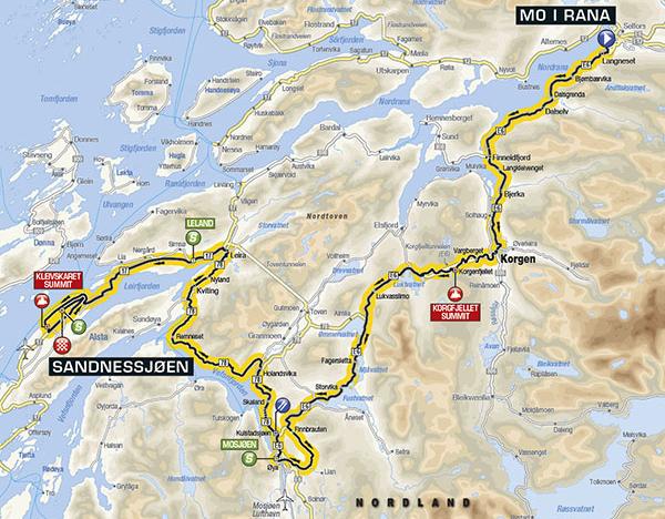 Arctic Race 2016 Etappe 2