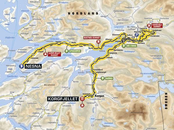 Arctic Race 2016 Etappe 3