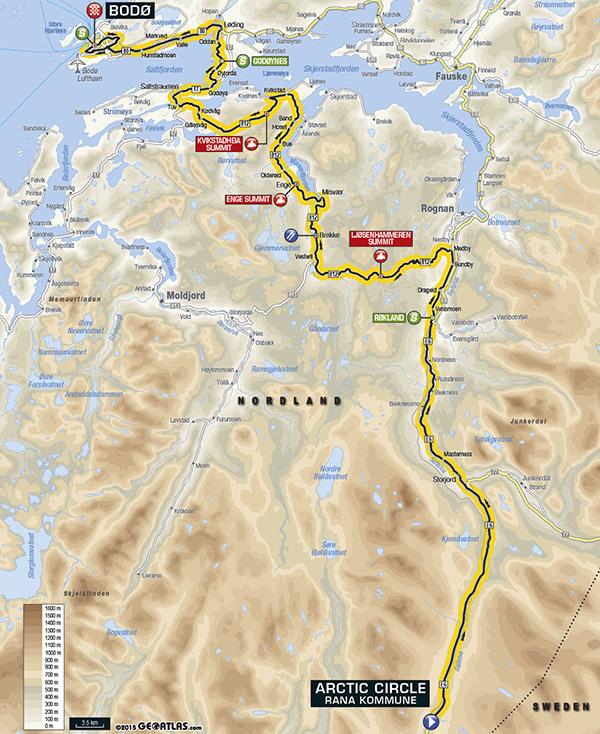 Arctic Race 2016 Etappe 4