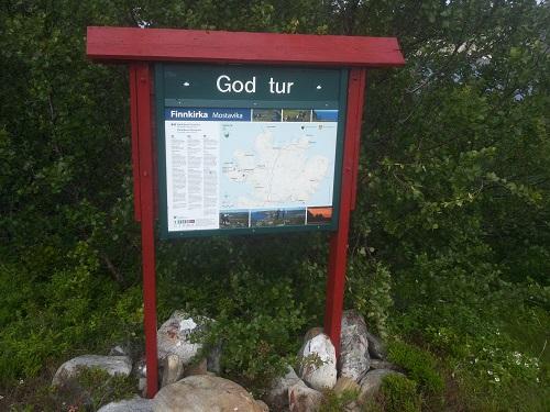 Fotturer i Nord-Norge hoved