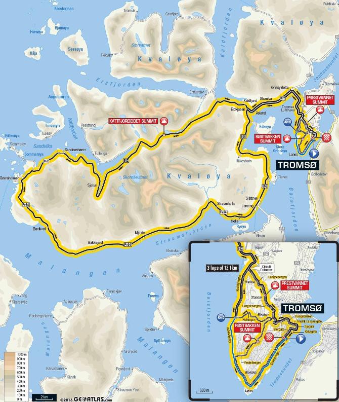 4. Etappe Arctic Race 2017