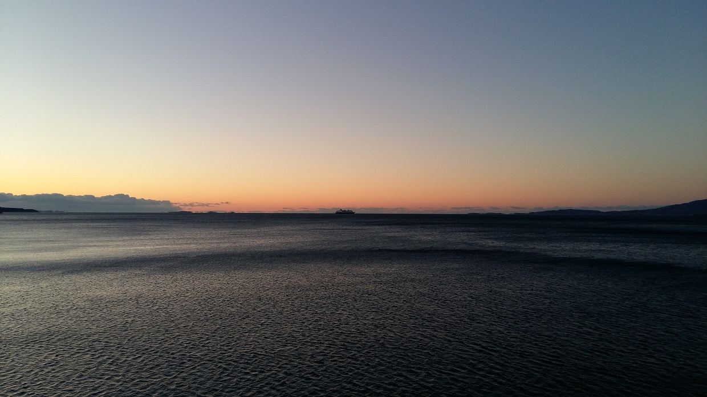 Hurtigruten på Landegodefjorden