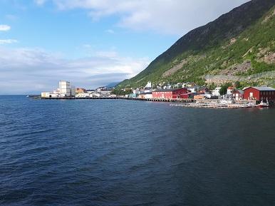 Øksfjord havn